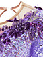povoljno Klizačke haljine-21Grams Haljina za klizanje Žene Djevojčice Korcsolyázás Haljine Yan pink Ljubičasta White / White Spandex Stretch Yarn Visoka elastičnost Odjeća za klizanje Ručno izrađen Crystal / Rhinestone Dugih