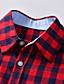 levne Chlapecká trička a košile-Děti Batole Chlapecké Tričko Košile Dlouhý rukáv Pepito Vodní modrá Rubínově červená Děti Topy Léto Základní Šik ven Den dětí