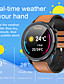 cheap Smart Watches-L11 Unisex Smart Wristbands Android iOS Bluetooth Waterproof Heart Rate Monitor Blood Pressure Measurement Distance Tracking Information Pedometer Call Reminder Activity Tracker Sleep Tracker