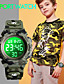 cheap Kids' Watches-SKMEI Kids Digital Watch Digital Quartz Modern Style Sporty Fashion Alarm Calendar / date / day Chronograph / One Year / Silicone