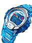 cheap Kids' Watches-SKMEI Kids Digital Watch Digital Sporty Fashion Water Resistant / Waterproof Black / Blue / Purple Digital - Black Blue Purple One Year Battery Life / Japanese / Calendar / date / day / Chronograph