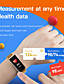 cheap Smart Watches-FT520 Unisex Smart Wristbands Android iOS Bluetooth Heart Rate Monitor Blood Pressure Measurement Calories Burned Long Standby Health Care Stopwatch Pedometer Call Reminder Sleep Tracker Sedentary