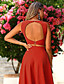 cheap Cocktail Dresses-Two Piece Elegant Vintage Cocktail Party Formal Evening Dress Jewel Neck Sleeveless Ankle Length Satin with Ruffles 2021