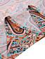 cheap Maxi Dresses-Women's Maxi long Dress Short Sleeve Paisley Print Summer Hot Casual vacation dresses 2021 Red Brown S M L XL XXL 3XL
