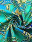 cheap Casual Dresses-Women's Shift Dress Knee Length Dress Half Sleeve Tribal Print Fall Hot Casual vacation dresses 2021 Blue Green S M L XL XXL 3XL