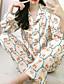 Недорогие Одежда для отдыха-Жен. Дом Имитация шелка Loungewear Сплошной цвет M Черный