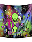 cheap Landscape Tapestries-trippy tapestry wall hanging alien et psychedelic tapestry hippie for bedroom living room decor wall art