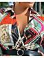 cheap Women's Plus Size Dresses-Women's Plus Size Dress Swing Dress Midi Dress Long Sleeve Print Tassel Fringe Print Shirt Collar Casual Spring Summer Big Size XL XXL 3XL 4XL