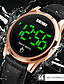 cheap Digital Watches-SKMEI Men's Digital Watch Digital Digital Stylish LED Light Shock Resistant Noctilucent / One Year / Leather