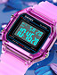 cheap Kids' Watches-SKMEI Boys' Sport Watch Digital Digital Sporty Stylish Calendar / date / day Chronograph Alarm Clock / One Year / Silicone