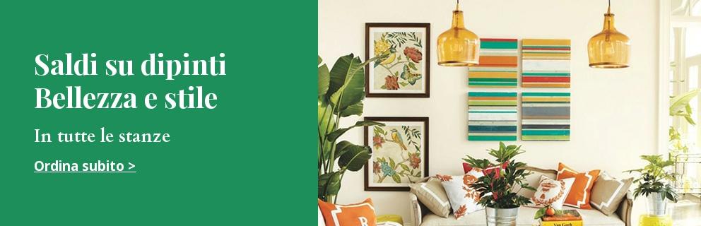 Quadri e decorazioni da parete online quadri e for Decorazioni quadri