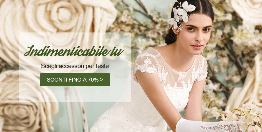 Sposa e cerimonie in promozione online  d1ddb7744053