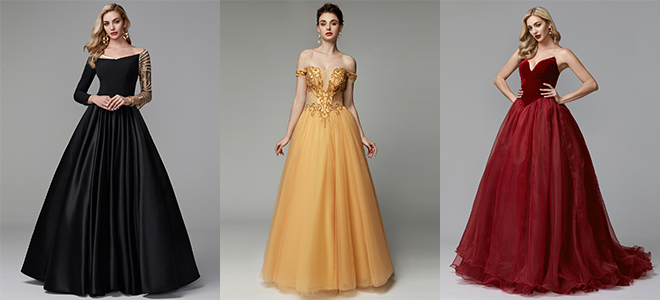 7b1cf260b0e This year the ballgowns are set to be HUGE! For the girl looking for a  fairy tale prom experience a princess ball gown will always be on trend.