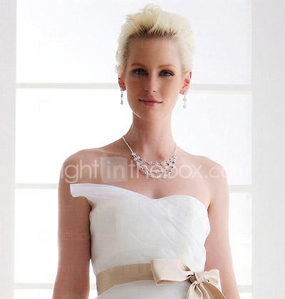 f1c48466c7cb Lanting bruden-line   princess petite   pluss størrelser brudekjole ...