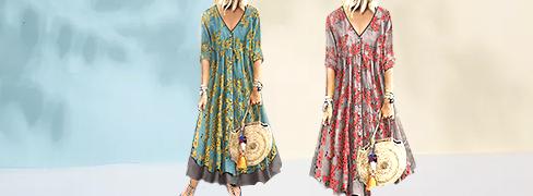 Trendy kjoler