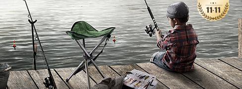 Enjoy Your Leisure Time Fishing!