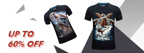 Heren T-shirts met coole prints