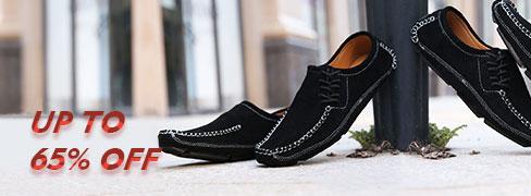 أحذية مريحة مسطحة رحالي