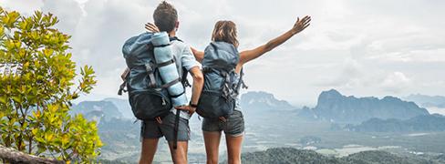 Kampiranje, planinarenje i pješačenje