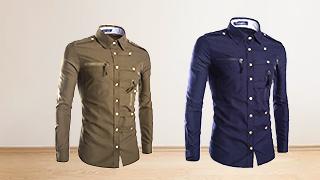 Tøffe herreskjorter med trykk