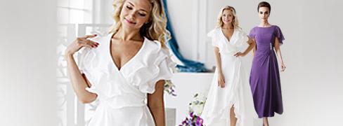 프리티 여성 드레스