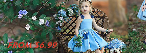 Girls' Dresses From$6.99 on Sale