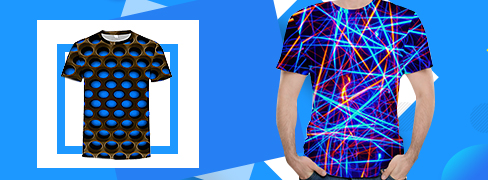 Tricouri Imprimate 3D de Bărbați