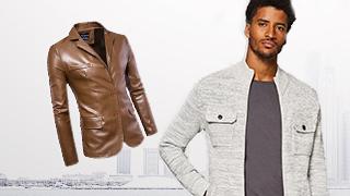 Plus-size Men's Jackets