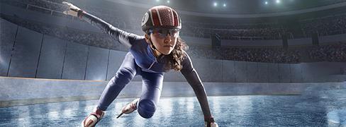 アイススケートドレス