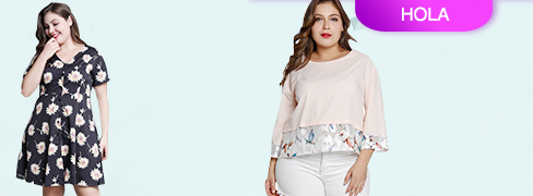 HOLA@ Plus Size Dress&Tops Highly Recommen...