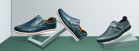 Men's Comfort Slip-ons & Loafers Summer De...