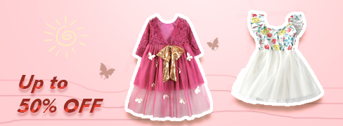 Summer Baby Girls' Dresses on Sale