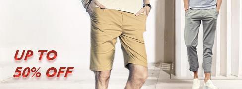 Férfi nadrágok és rövi...