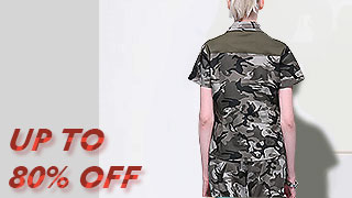 Camo Hiking Clothing Hot Sale