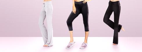 Hurtigtørkende klær til yoga og jogging