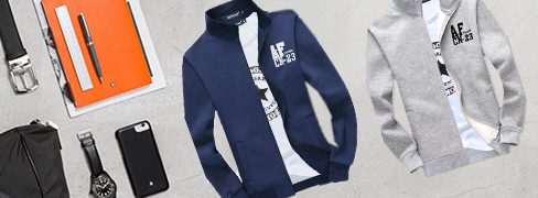 Men's Solid Colour Hoodies