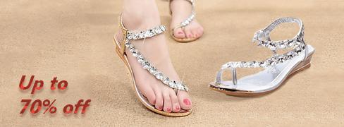 Elegant Women's Sandals On Sale