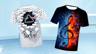 3D Print Men's T-Shirts Best S...