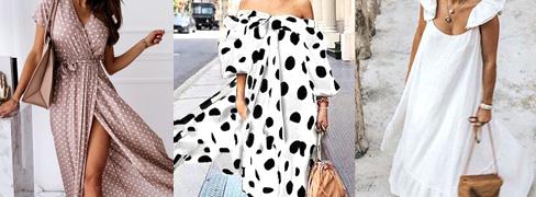 Krásné dámské šaty