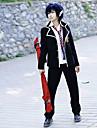 Inspirerad av Blue Exorcist Rin Okumura Animé Cosplay-kostymer Japanska cosplay Suits / Skoluniformer Enfärgad Långärmad Kappa / Skjorta / Byxor Till Herr / Dam