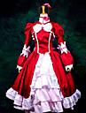 Inspirerad av Svart Butler Elizabeth Animé Cosplay-kostymer Japanska cosplay Suits / Klänningar Lappverk Långärmad Kravatt / Klänning / Sjal Till Dam / Handskar / Satin