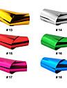 1 pcs Plast Nail Foil Striping Tape Till finger nagel konst manikyr Pedikyr Abstrakt / Foliebandspapp