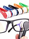 1 st Glasögonrengörare Bärbar / Multifunktion för Bärbar / Multifunktion Microfiber / ABS - Röd / Grön / Blå