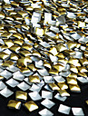 50 pcs Glitter Nail Art Kit Nagelsmycken nagel konst manikyr Pedikyr Dagligen Punk / Bröllop / Mode / Nail Smycken / Metall