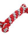 Tuggleksaker Hund Hundvalp Husdjur Leksaker Rep Vävd Textil Present