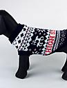 Hund Tröjor Vinter Hundkläder Kostym Ull Jul XS S M L XL