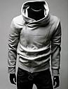 สำหรับผู้ชาย ขนาดพิเศษ เสื้อกันหนาวหมวกแจ็คเก็ต สีพื้น ทุกวัน Sport ซึ่งทำงานอยู่ พื้นฐาน เสื้อฮู้ด เสื้อ แขนยาว ฟ้า สีเทา สีดำ / ตก / ฤดูหนาว / ฤดูใบไม้ผลิ