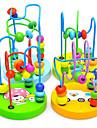 Barn Baby Läro Wooden Mini Runt Pärlor spelet Toy