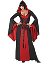 Bloody Vampire Deluxe Red Polyester kvinnors Halloween Party Kostym