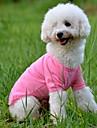 Hund T-shirt Hundkläder Orange Gul Grön Kostym Cotton Enfärgad Minimalistisk Stil XS S M L XL